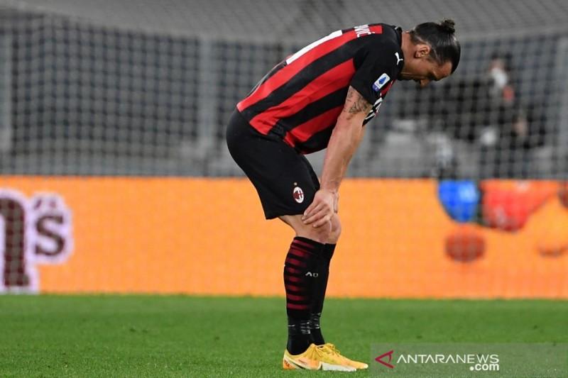 AC Milan kehilangan Zlatan Ibrahimovic di laga perdana ...