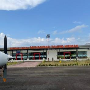 Resmikan Bandara Taufiq Kiemas, Puan Berharap Bisa Bantu Peningkatan Kesejahteraan Masyarakat