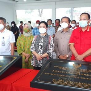 Selain Pulang Kampung, Puan Maharani Resmikan Bandara Taufiq Kiemas dan Jalan Fatmawati Soekarno