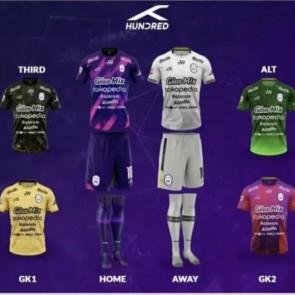 Sambut Liga 2, RANS Cilegon luncurkan seragam baru